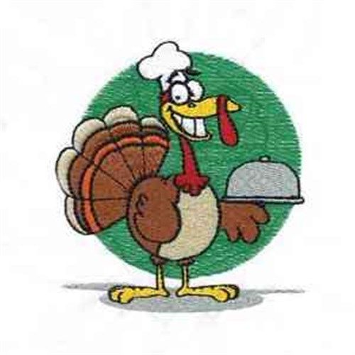 Funny Turkey Machine Embroidery Design | Daydream Designs