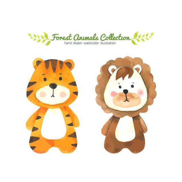Tiger And Lion Cartoon Lion King Lion Clipart Tiger Lion Png And Vector With Transparent Background For Free Download Cartoon Lion Animal Pictures For Kids How To Draw Hands