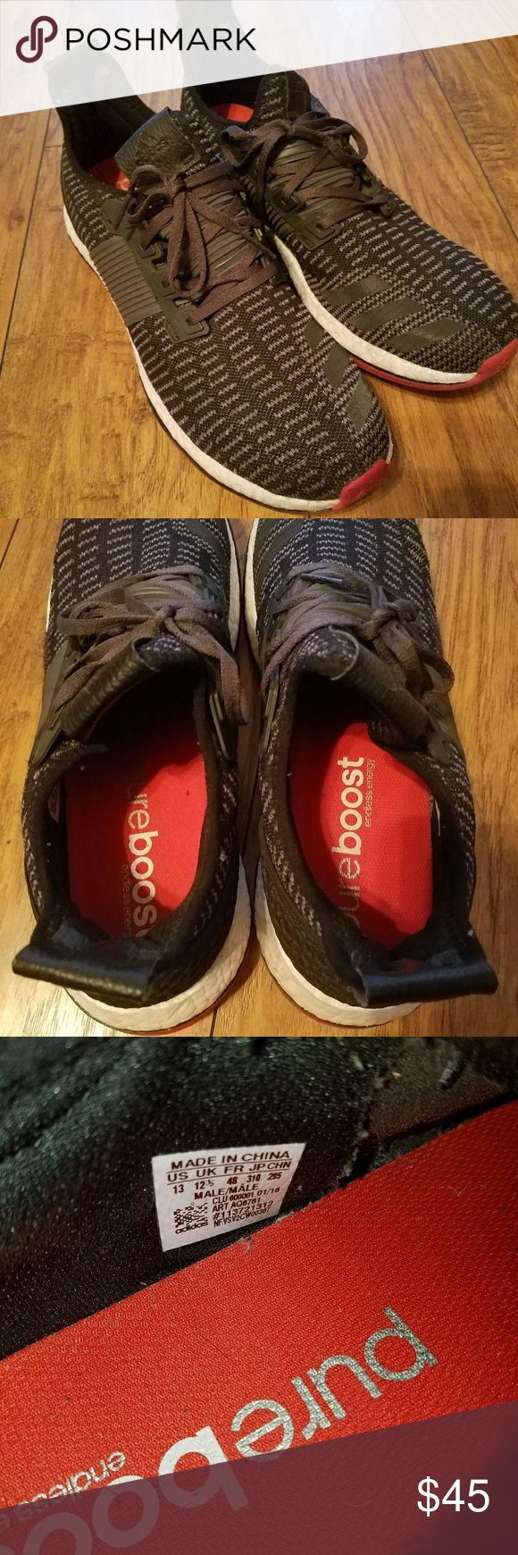 MENS ADIDAS PURE BOOST ZG SHOES In very good condition only worn 2 times adidas Shoes Athletic Shoes