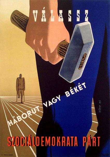 Pal Gabor, Choose betwwen war and peace, 1947