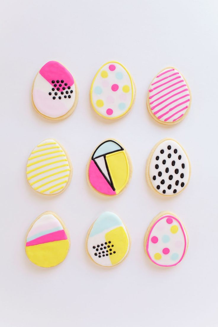 tell love and chocolate: TELL: MODERN EASTER COOKIES