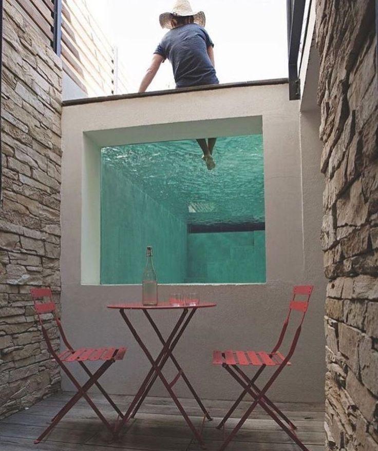 254 best Autour de la piscine images on Pinterest Swimming pools - l eau de ma piscine est verte et trouble