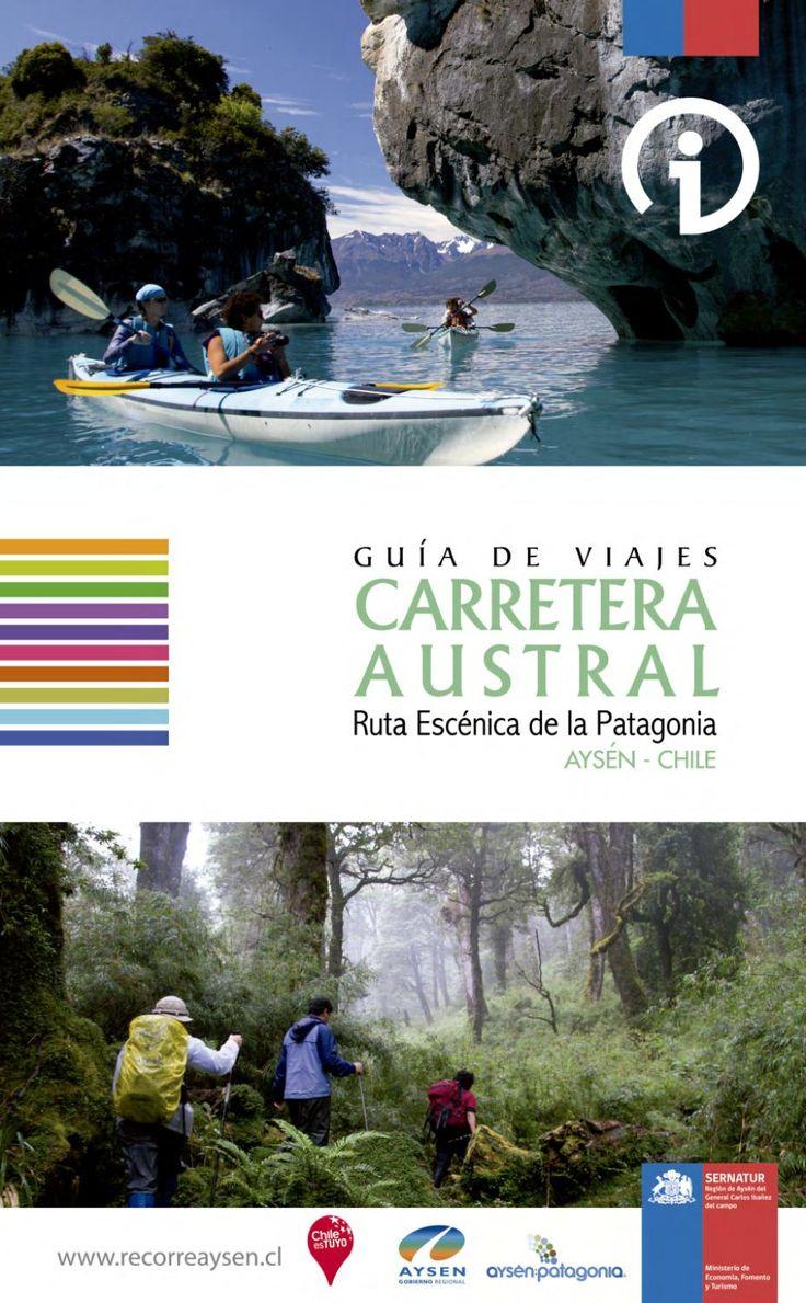 Guia Turistica Carretera Austral, perteneciente a la región de aysén.