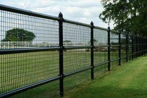 steel fence designs ideas - Google Search