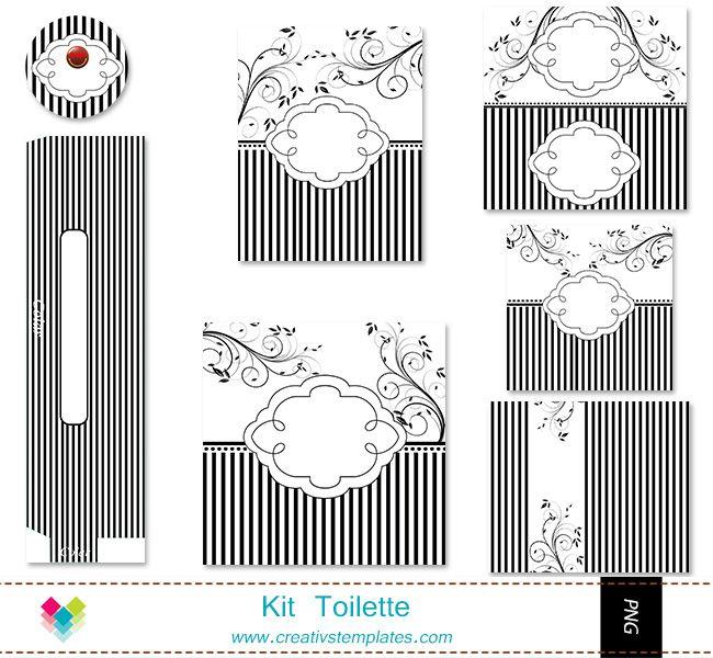 kit banheiro casamento moldes - Pesquisa Google