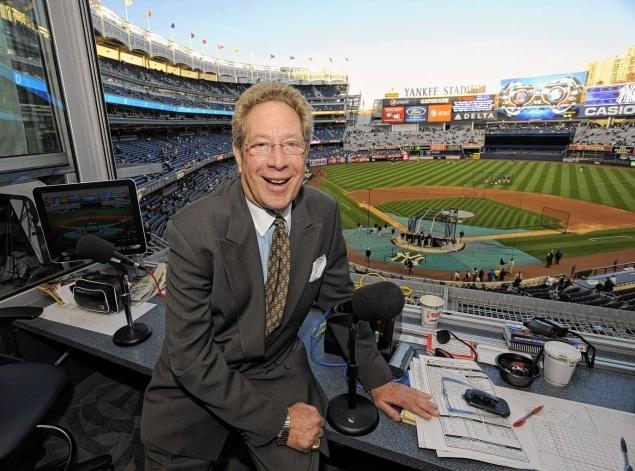 2012-04-10 Yankees radio team of John Sterling and Suzyn Waldman in midseason form already.  Good article.  http://www.nydailynews.com/sports/baseball/yankees/yankee-radio-team-john-sterling-suzyn-waldman-midseason-form-article-1.1058979?localLinksEnabled=false