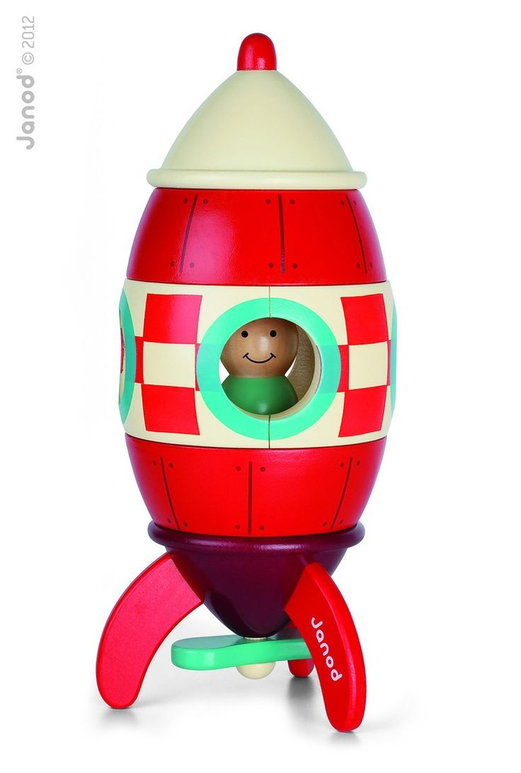 Tendre Deal - Summer Sale - Toys/Accessories Exclusive online Boutique dedicated to Kids & French Designers  Lovely rocket puzzle held together by magnets, loads of play value.