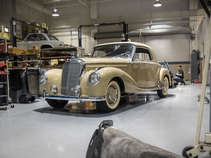 154 best images about classic workshop on pinterest for Mercedes benz restoration center