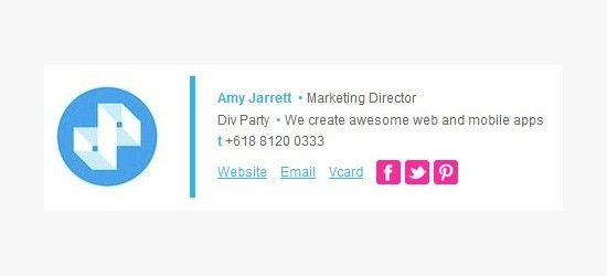 25 best email signature design templates amp examples
