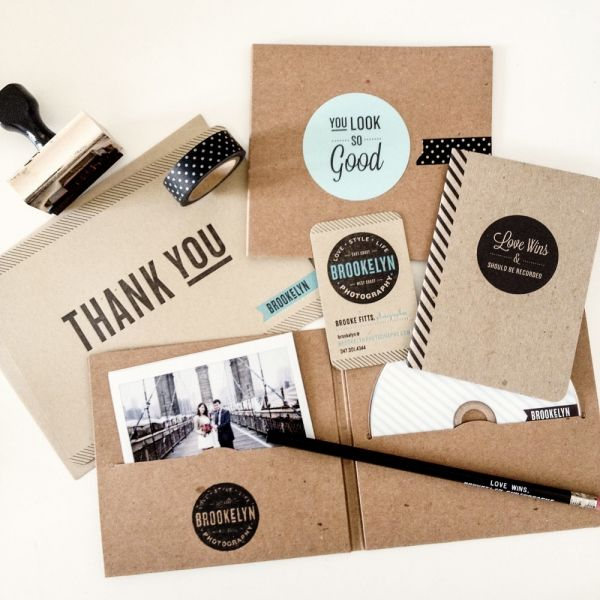 agradece a tus invitados el haberte acompañado hay mil ideas Client Photo Packaging for Photographers