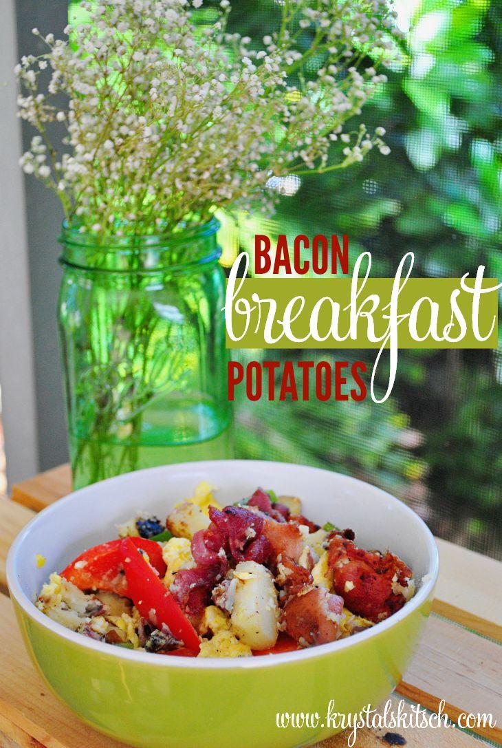 ¡Estas papas para el desayuno con tocino picante son una comida fácil de una sola olla para el brunch! Y B…   – Main Dishes