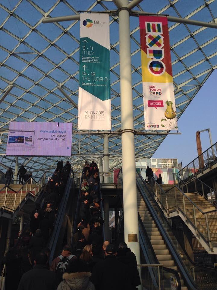 Let's go to the #BIT2015! Borsa Nazionale del Turismo #Milano #Fiera #ThreesixtyPR
