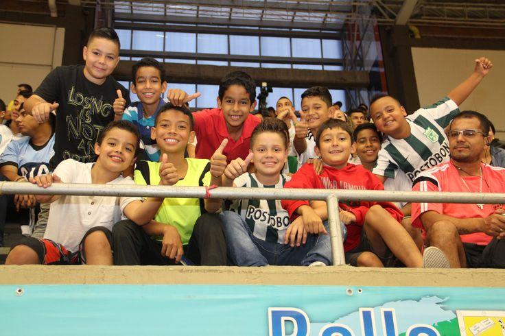 Los niños dicen presente en la Liga Argos Futsal.