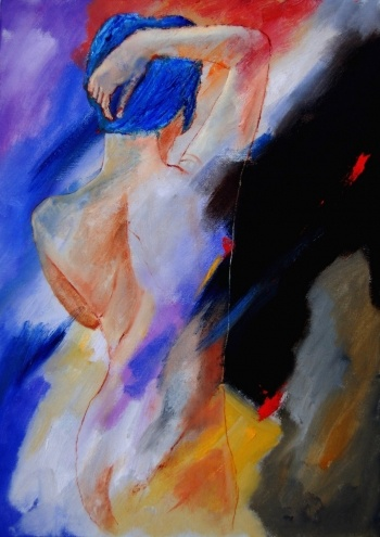 Nude 579020, painting by artist ledent pol