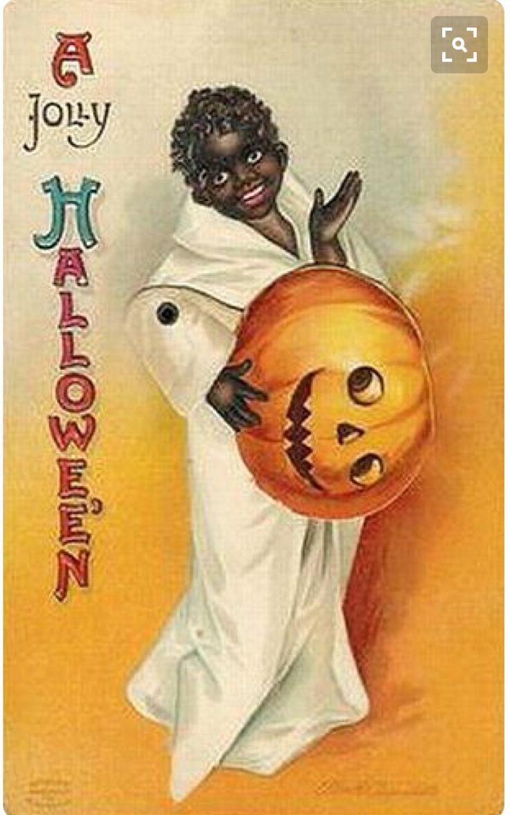 234 best halloween postcards images on pinterest happy halloween