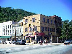 Town square in Berkeley Springs