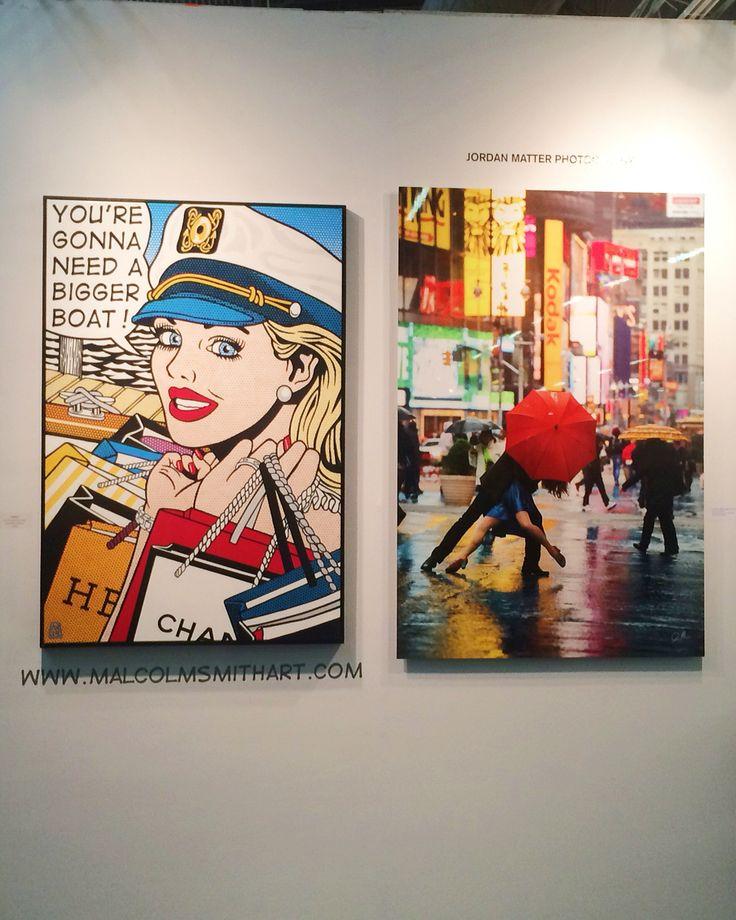Jordan Matter photography at Art Expo 2016