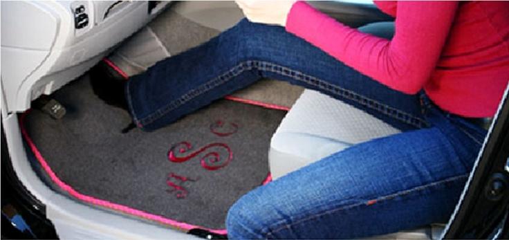 Monogram Car Mats from Monogram Lane: Cars Tags, Personalized Cars, Monograms Lane Ne, Monograms Cars, Floors Mats, Cars Mats, Personalized Mats, Monograms Everything