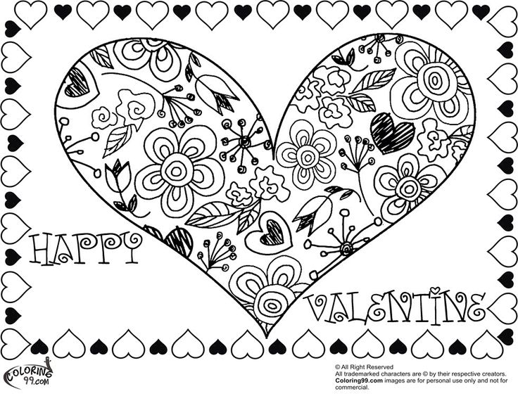 heart coloring pages for adults 240 valentine heart coloring pages minister coloring