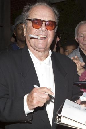 Jack Nicholson smokes e-cigs celebrity electronic cigarettes www.ViceVapes.com