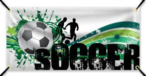 How to Make a Custom Soccer Banner Online - Step by Step Instructions #soccer #bannersblog