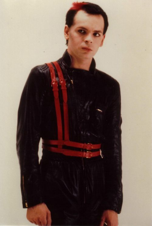 "Gary Numan, in his jumpsuit, 1980s fashion ""our Friends Electric ""was written about my cousin Su !"