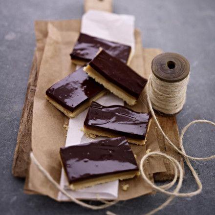 Karamell-Schokoladen-Shortbread Rezept