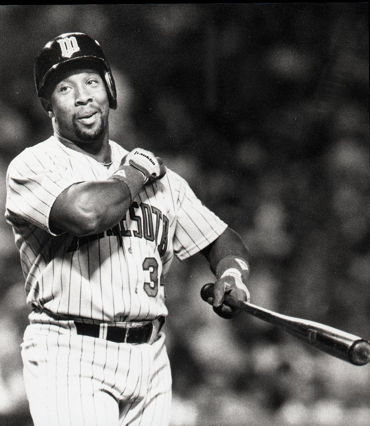 Kirby Puckett. Minnesota Twins 1984-1995. Twins franchise's all-time leader in career hits, runs, doubles, and total bases. At the time of his retirement, his .318 career batting average was the highest by any right-handed American League batter since