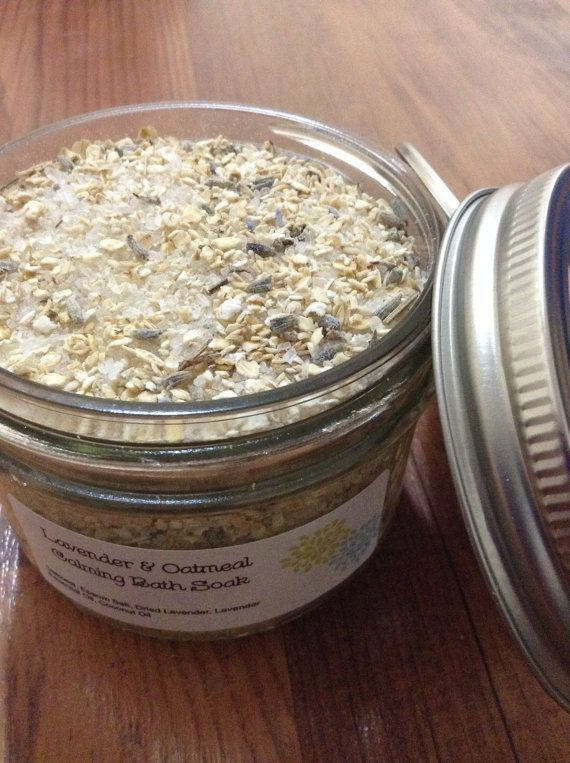 Check out this item in my Etsy shop https://www.etsy.com/ca/listing/464662909/free-gift-lavender-and-oatmeal-calming