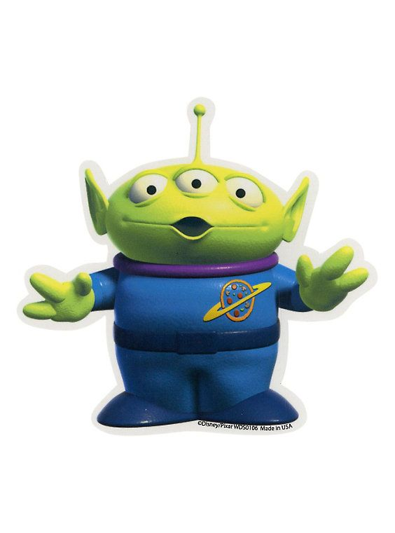 Disney Toy Story Alien Sticker,                                                                                                                                                     More
