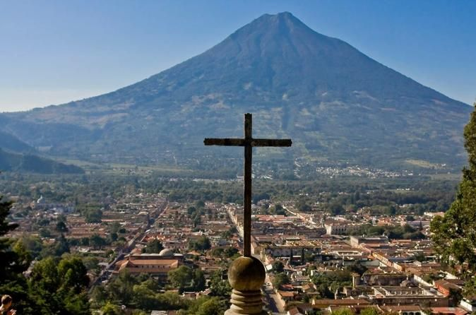 Half Day Tour to Antigua Guatemala Located just one hour away from Guatemala City, this is the most visited destiny because of its history and its cultural beauty. The city of Santiago de los Caballeros is a colonial city, founded in 1543, which was the administrative, political and religious center of Chiapas and Central America until the year 1773.You will be picked up from your hotel in Guatemala City and will be transferred on an air conditioned vehicle to Antigua.During t...