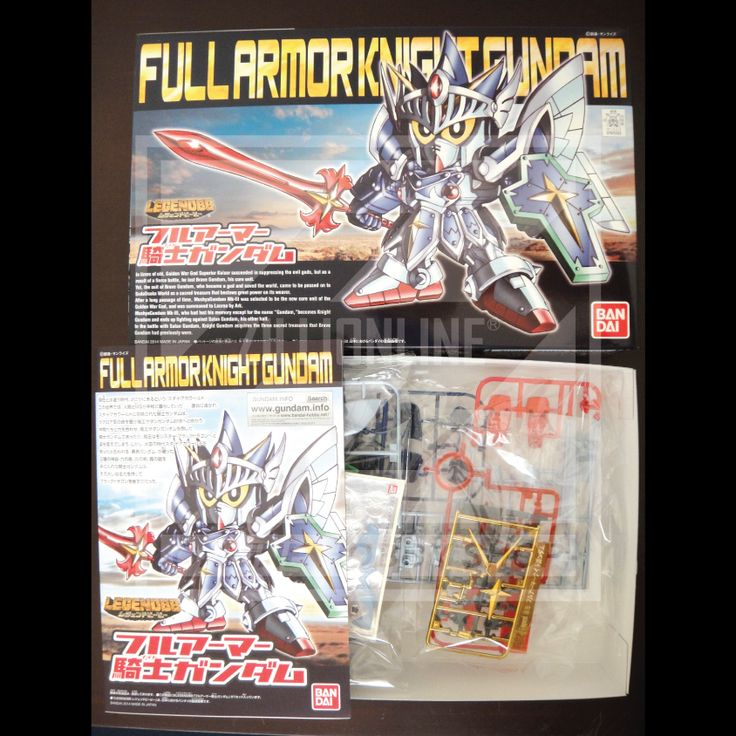 [MODEL-KIT] NON-SCALE SD LEGEND BB - FULL ARMOR KNIGHT GUNDAM. Item Size/Weight : 31.1 x 20.2 x 5.8 cm / 229g. (*ITEM SIZE & WEIGHT BEFORE PACKAGED). Condition: MINT / NEW & SEALED RUNNER. Made by BANDAI.