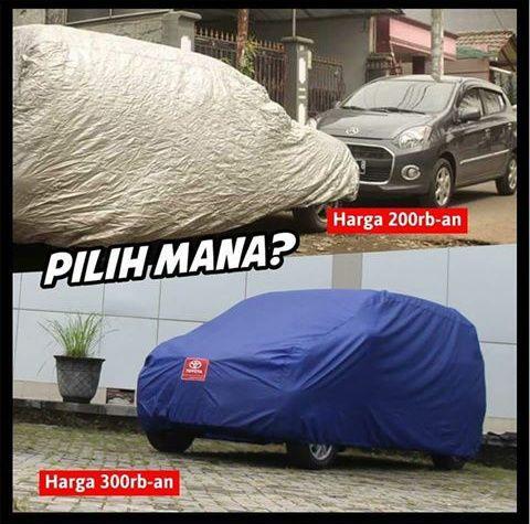 Sayangi Mobil Anda dengan Cover Mobil