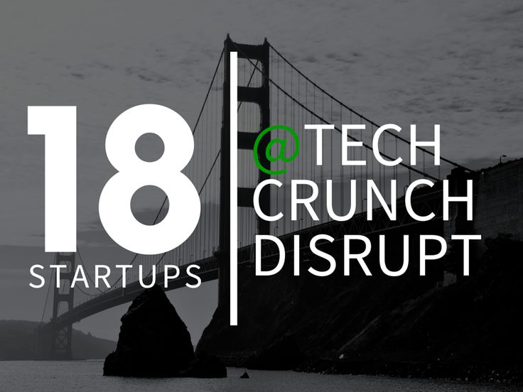 Elarm was one of the 18 Startups to watch at Tech Crunch Disrupt SF