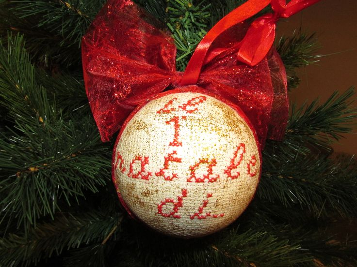 Christmas, natale, ornaments, first christmas, primo natale, fai da te, cross stitch