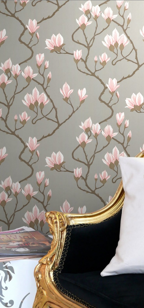 Cole & Son Magnolia Wallpaper