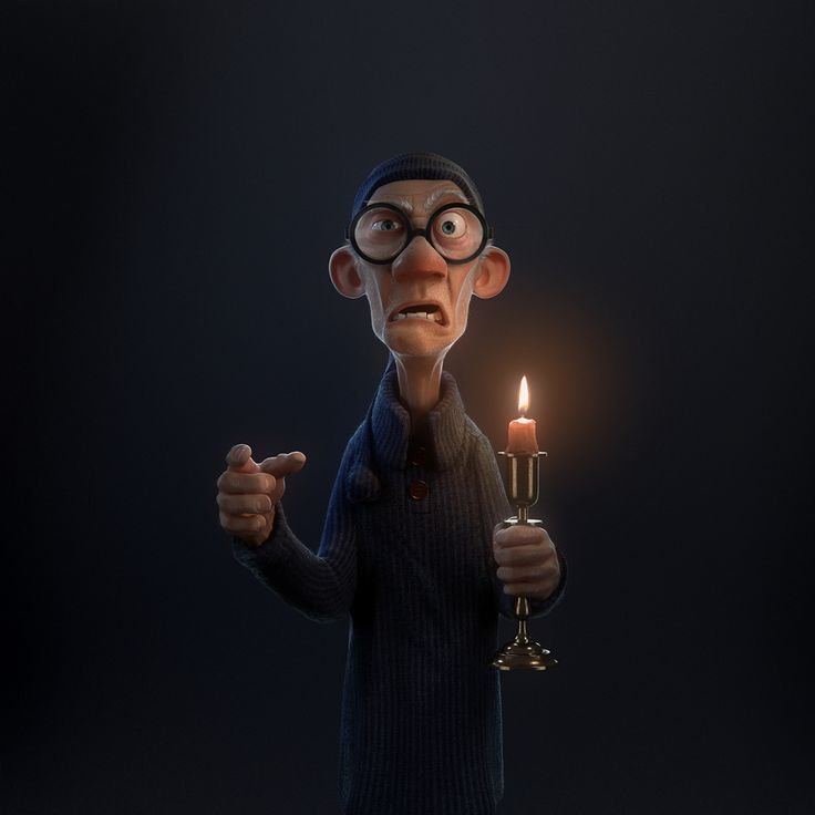 http://felipehansen.cgsociety.org/art/3ds-max-zbrush-photoshop-old-man-cartoon-3d-1266463