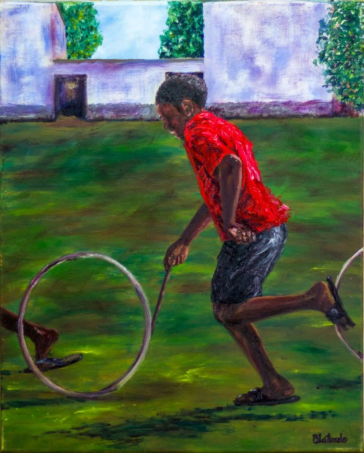 Spin it (2013)  Oil on canvas