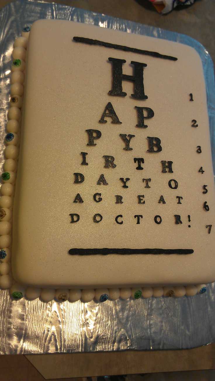 33 best Eye doctor cakes images on Pinterest Eye doctor