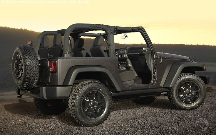 Jeep Wrangler Willys 2014