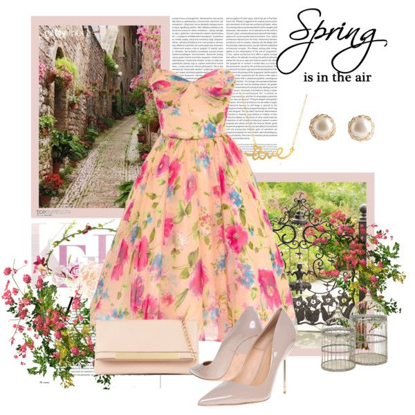 Untitled #11 by catalinandrea on Polyvore featuring Unique Vintage, Kurt Geiger, ALDO, YooLa, Minnie Grace, MacKenzie-Childs and Oris
