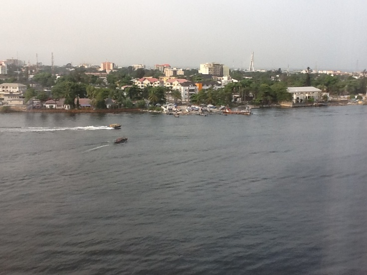 Lagos Oriental Hotel view of Victoria Island