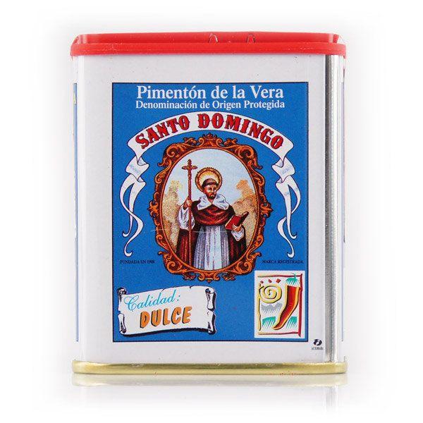 SANTO DOMINGO Pimenton de la Vera Mild Paprika 75 g | Spices & Salt | Gourmet Food - SPANISH SHOP ONLINE | Spain @ your fingertips