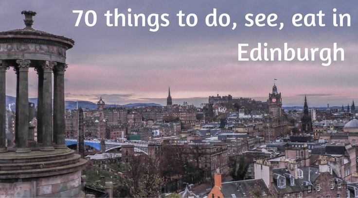 Over 70 things to do, see, eat in Edinburgh, Scotland's capital. From tours to free attractions, food and accommodation, walks and day trips.