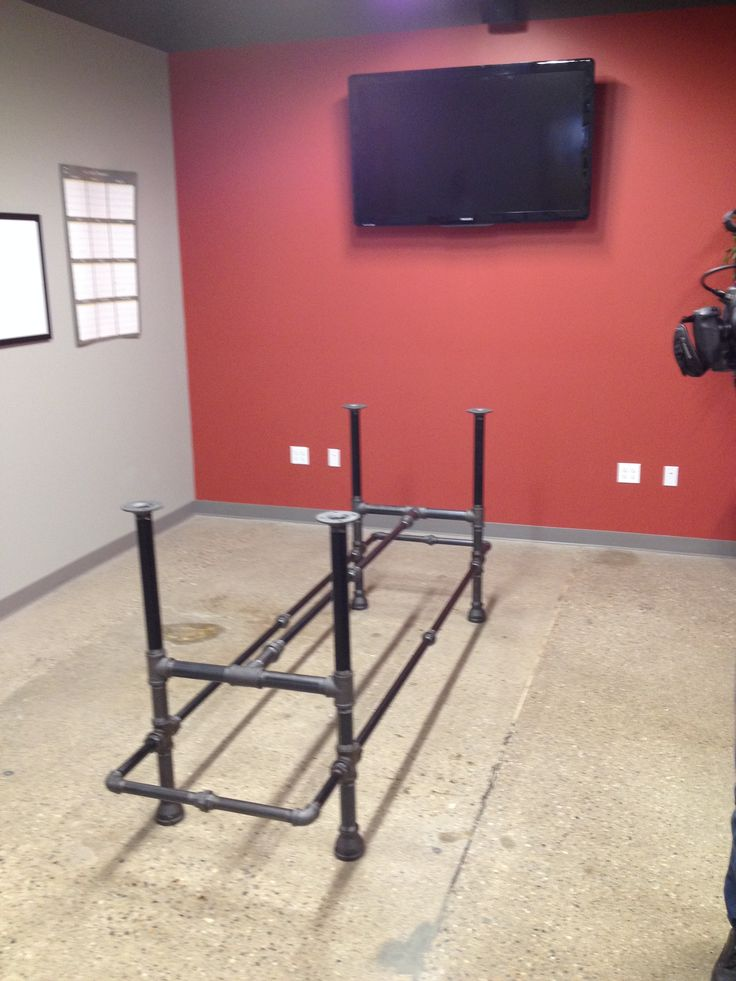 ... conference table on Pinterest Live edge table, Industrial and Tables