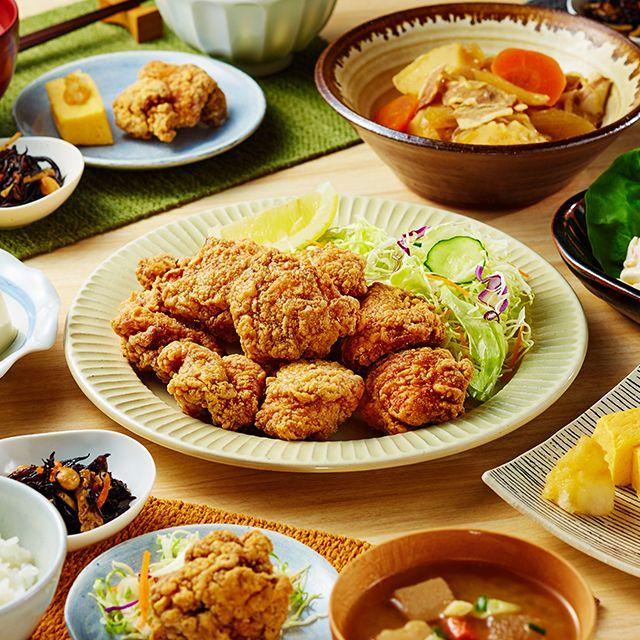 得市セール開催中です!夕飯のおかずやお弁当にぴったりのお惣菜がおトクです♪今回は「鶏から」も仲間入りしました! http://lawson.eng.mg/3875e