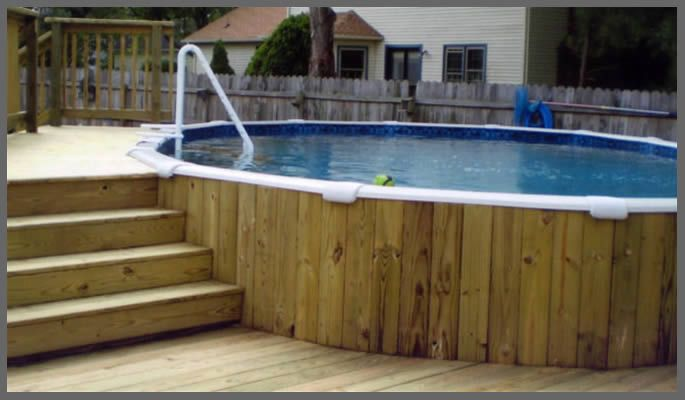 Piscina desmontable gardening pinterest for Piscinas desmontables enterradas