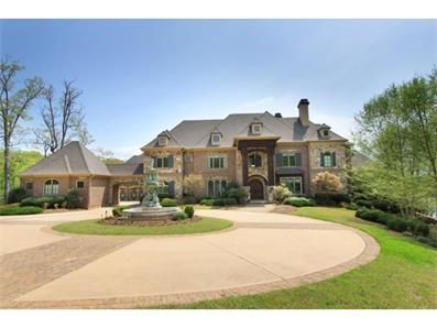 Gated paradise on lanier gainesville ga http www for Custom home builders gainesville ga