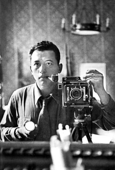Nacho López, fotógrafo y cineasta mexicano (1923 - 1986) - Autoportait, ca. 1950