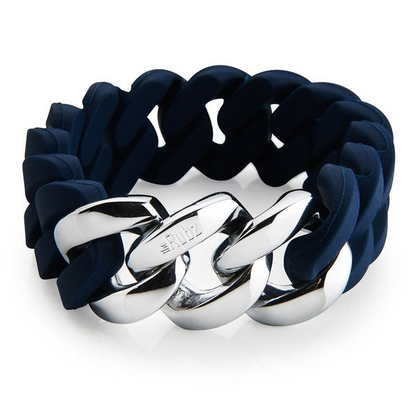 The Rubz Iconic - Navy blue & Silver